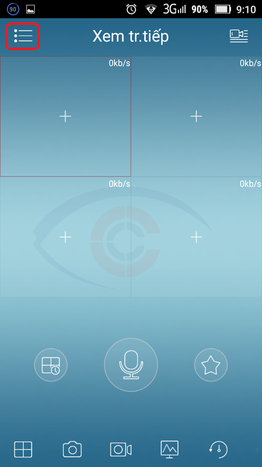 hướng dẫn cài phần mềm KBViewlite xem camera trên di động