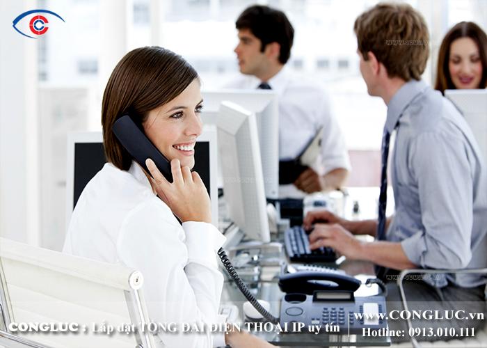 thi công hệ thống tổng đài điện thoại tại KCN An Dương Hải Phòng