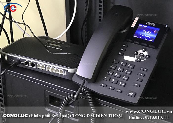 lắp tổng đài điện thoại IP tại KCN Đồ Sơn Hải Phòng