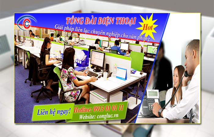 Tổng đài điện thoại giải pháp liên lạc nội bộ chuyên nghiệp dành cho văn phòng