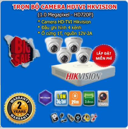 lắp camera quan sát hikvision trọn bộ giá rẻ cho gia đình tại hải phòng