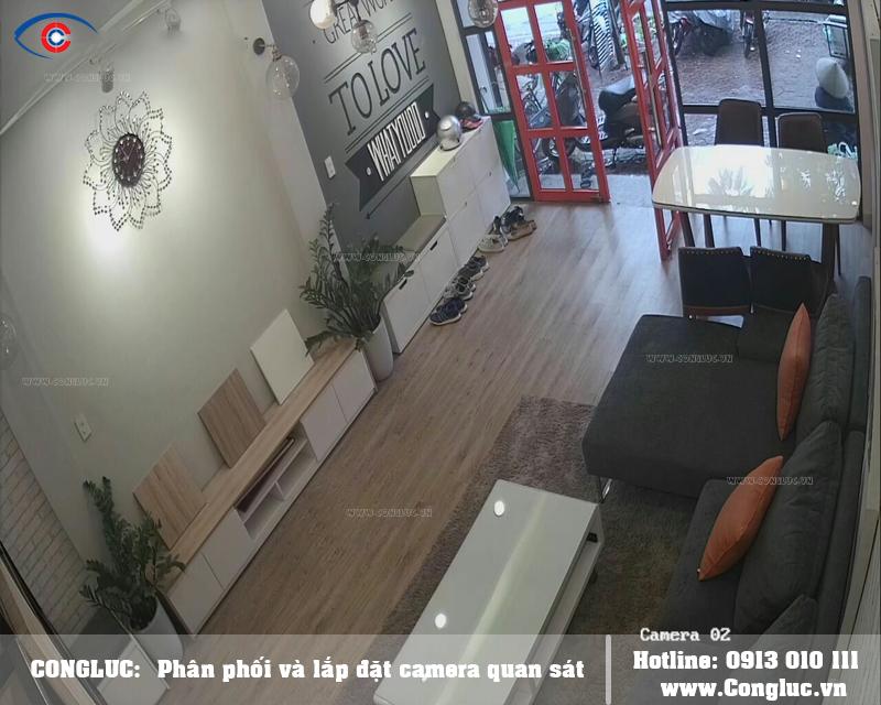 Lắp trọn bộ camera kbvision cho văn phòng công ty
