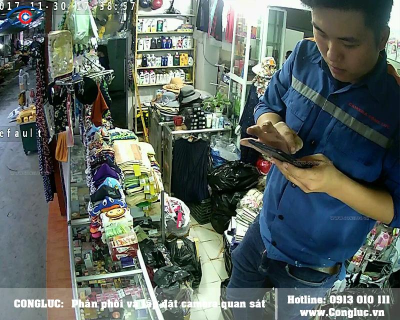 Lắp camera quan sát Kbvision cho cửa hàng tạp hóa