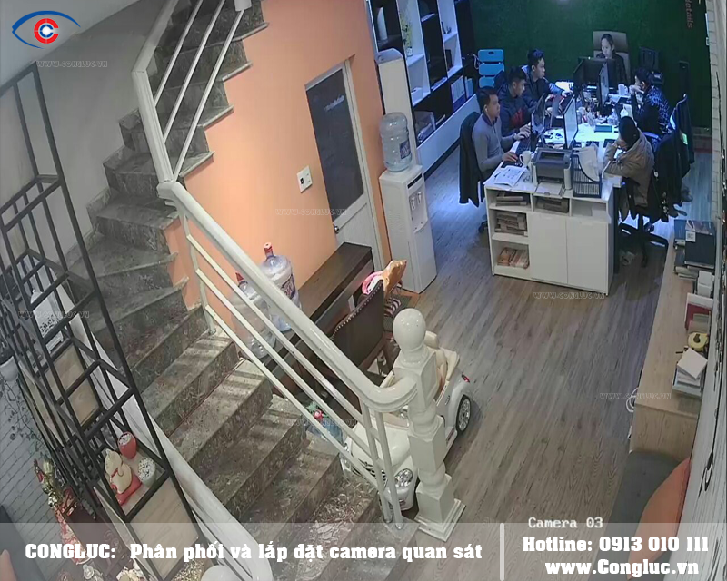 Lắp trọn bộ camera Kbvision cho văn phòng