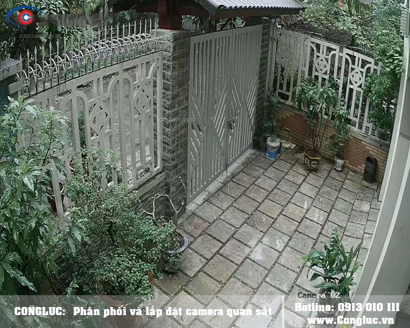 Lắp trọn bộ camera Kbivision giá rẻ cho nhà riêng