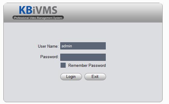 cài đặt phần mềm KBiVMS xem camera kBvision